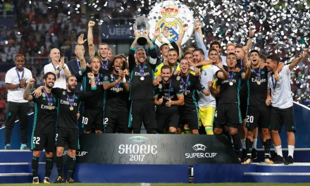 Real Madrid Edge Past Manchester United In Super Cup