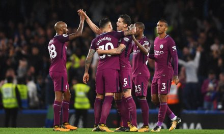 Man City go top with Chelsea victory; Man United, Spurs both win 4-0