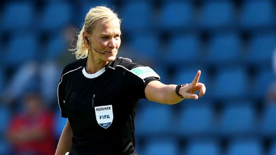 Female referee Bibiana Steinhaus to take charge of Hertha -Werder Bremen