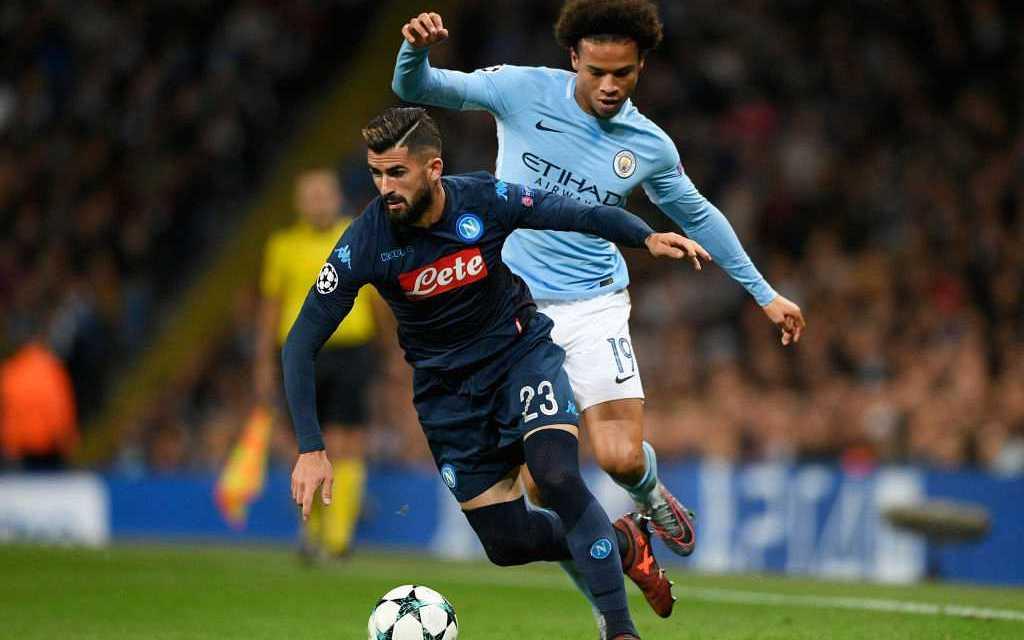 "Napoli defender Elseid Hysaj has ""studied"" how to stop Man City's Leroy Sane"