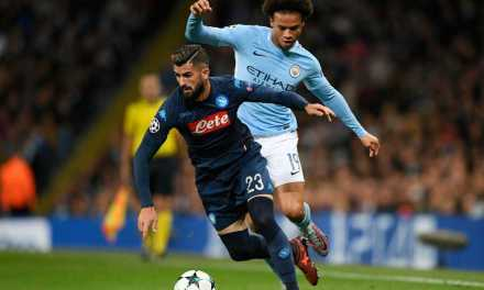 "Napoli defender Elseid Hysaj has ""studied"" how to stop Man City's Leroy Sane"