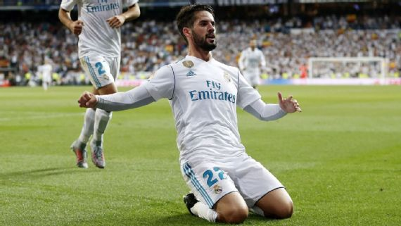Isco Brace Edges Madrid Past Espanyol
