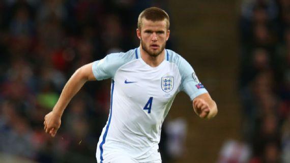 Tottenham's Dier to captain England vs. Germany, Loftus-Cheek to start