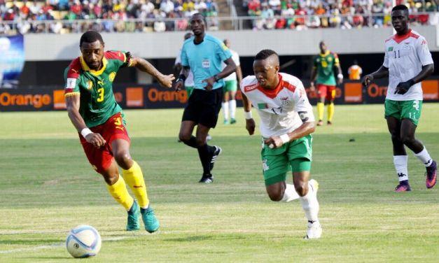 Banana rescues 2-2 draw for Cameroon vs. Zambia