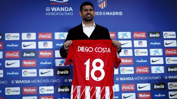 Diego Costa desperate to play as Atletico Madrid player