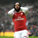 Arsenal's Alexandre Lacazette out for up to six weeks after knee operation