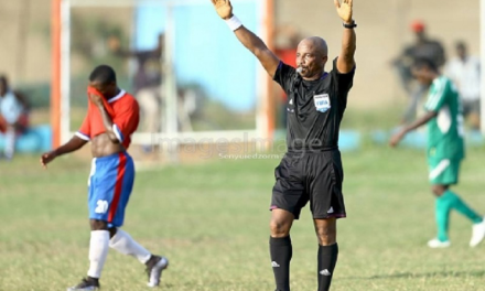 GFA Disciplinary Committee bans Referee Reginald Lathbridge