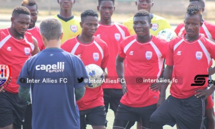 Inter Allies coach Kenichi wants players to maintain focus as they travel to Kotoko