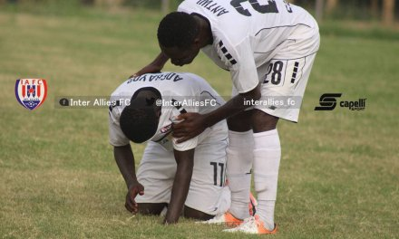 Ghana Premier League: Aduana put six past 10-men Inter Allies