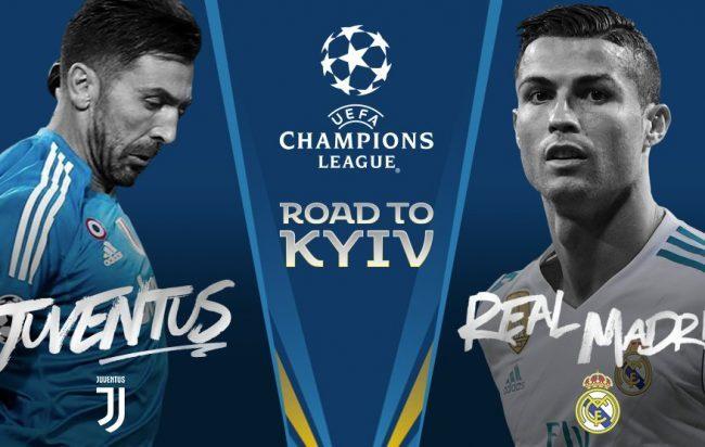 LIVE STREAM: REAL MADRID VS JUVENTUS (CHAMPIONS LEAGUE)