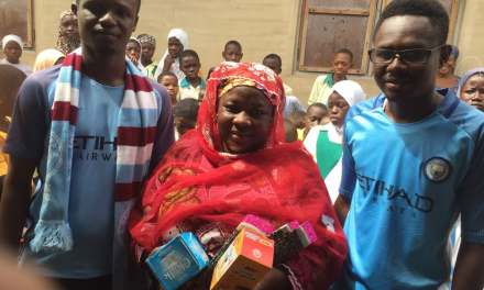 Manchester City Official Supporters Ghana Branch makes donations to two schools in Greater Accra & Northern Regions