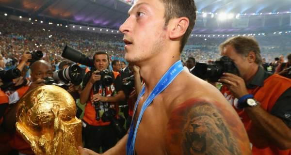 Mesut Ozil announced his retirement