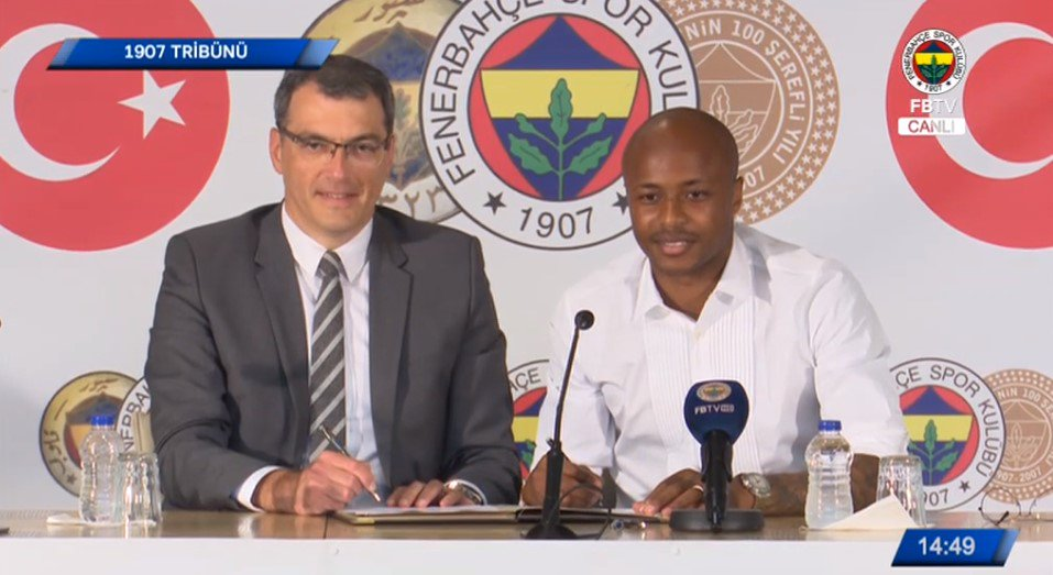 Ghana's Andre Ayew wants to win Turkish league title with Fenerbahce