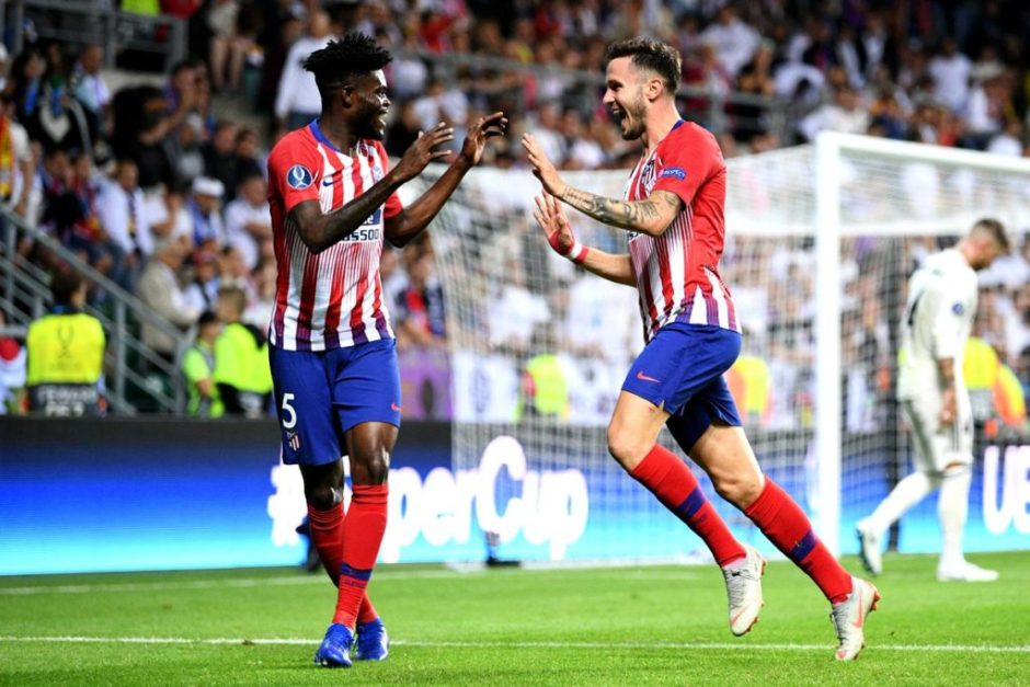 Thomas Partey included in Atleti's squad to face Real Madrid