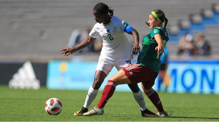 The Ghana Black Maidens crashed out of the U17 Women's World Cup