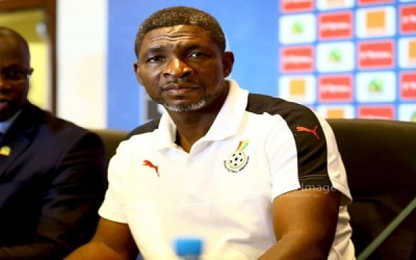 Black Stars B coach Maxwell Konadu