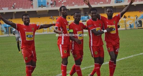 Asante Kotoko put three past Black Meteors in friendly game