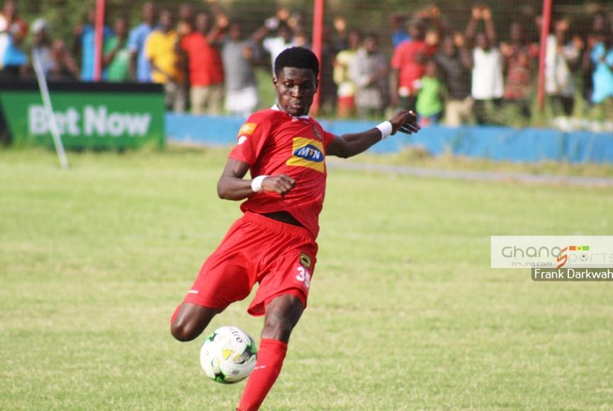 Kotoko defender Agyeman Badu calls for support ahead of Zesco clash