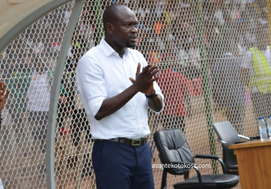 I was not satisfied with the way we played - Asante Kotoko coach CK Akonnor