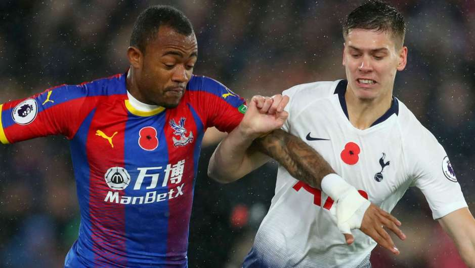 Roy Hodgson praises Jordan Ayew after first Palace goal