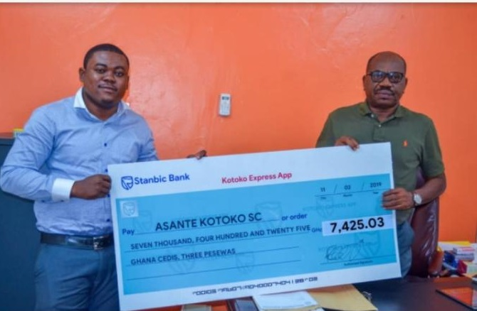 Asante Kotoko announce how much they generated from club's Express App