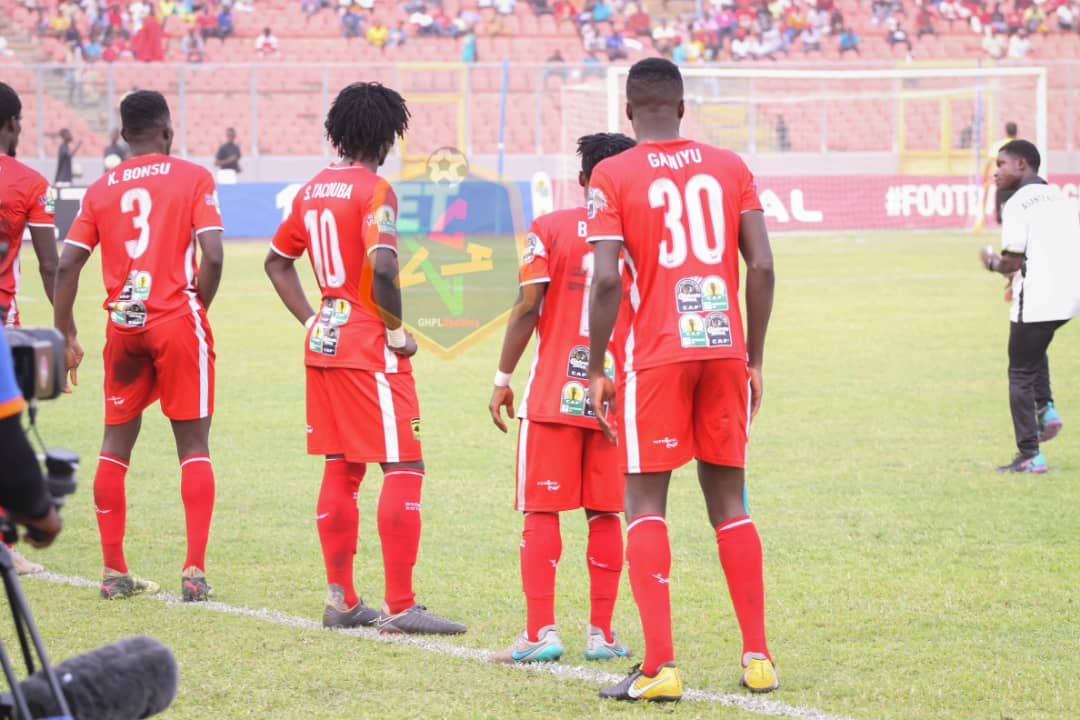 Asante Kotoko release nine players this week