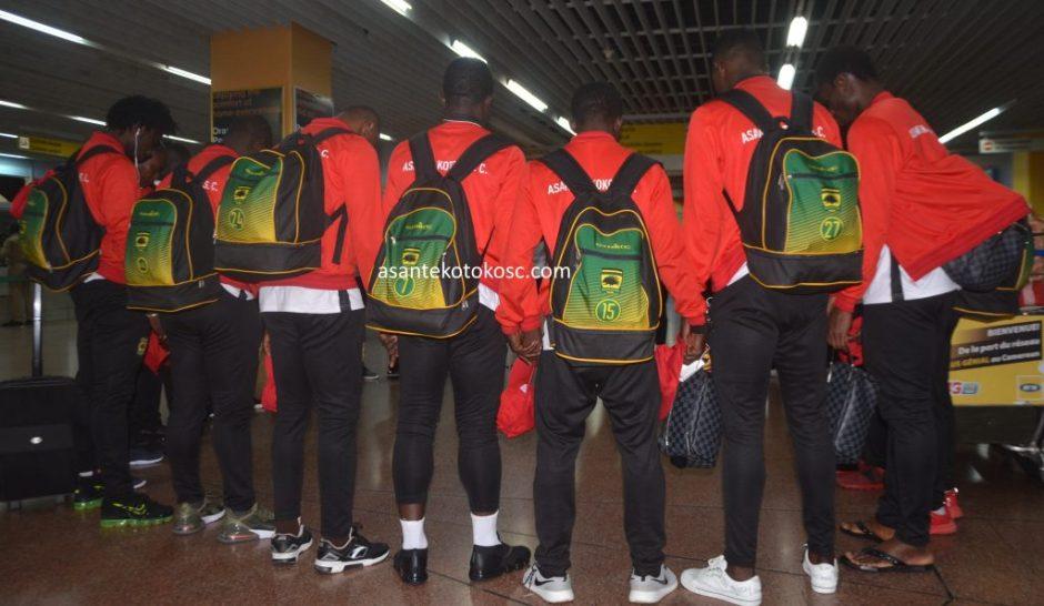 Asante Kotoko arrive in Ghana after CAF CC Elimination