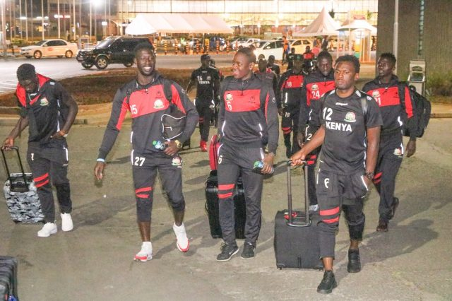Kenya Depart for Ghana for Final AFCON qualifier