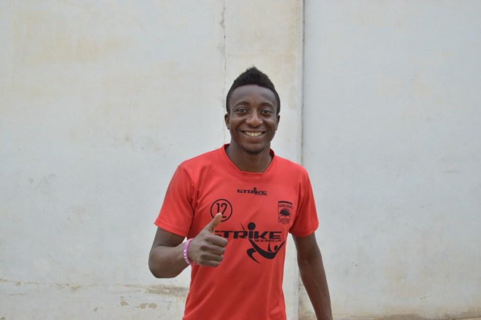 I started my career as a striker - Felix Annan