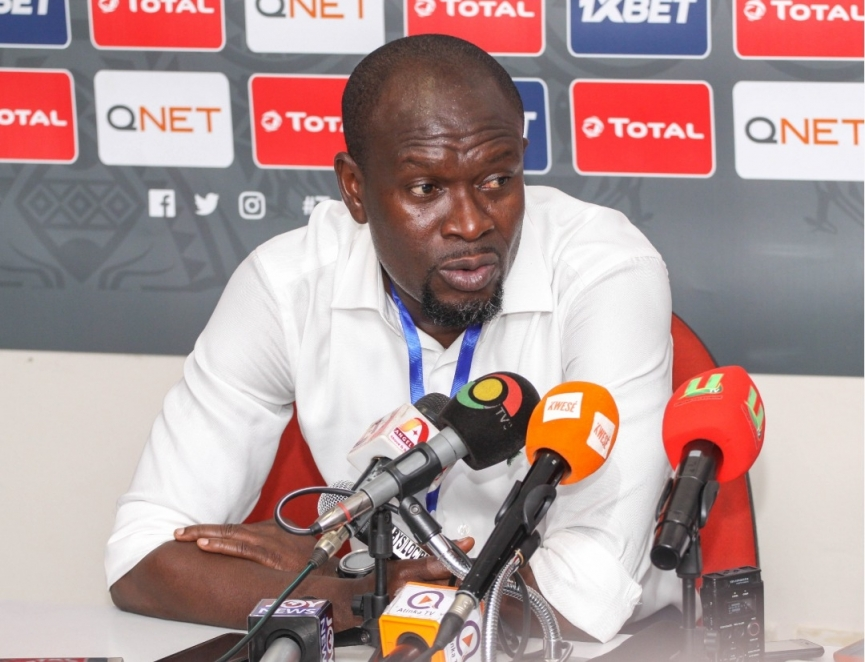 Kotoko coach CK Akonnor gives injury update on Baakoh and Senanu