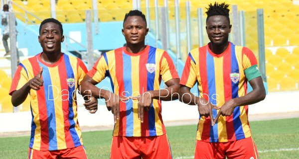 Special Competition: Hearts 2-1 Ebusua Dwarfs: Phobians back to winning ways