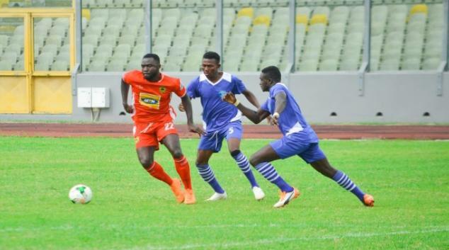 Asante Kotoko fans want more from Dany Zabo Teguy