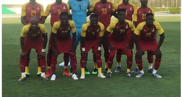 AFCON 2019: Ghana Starting lineup against Benin