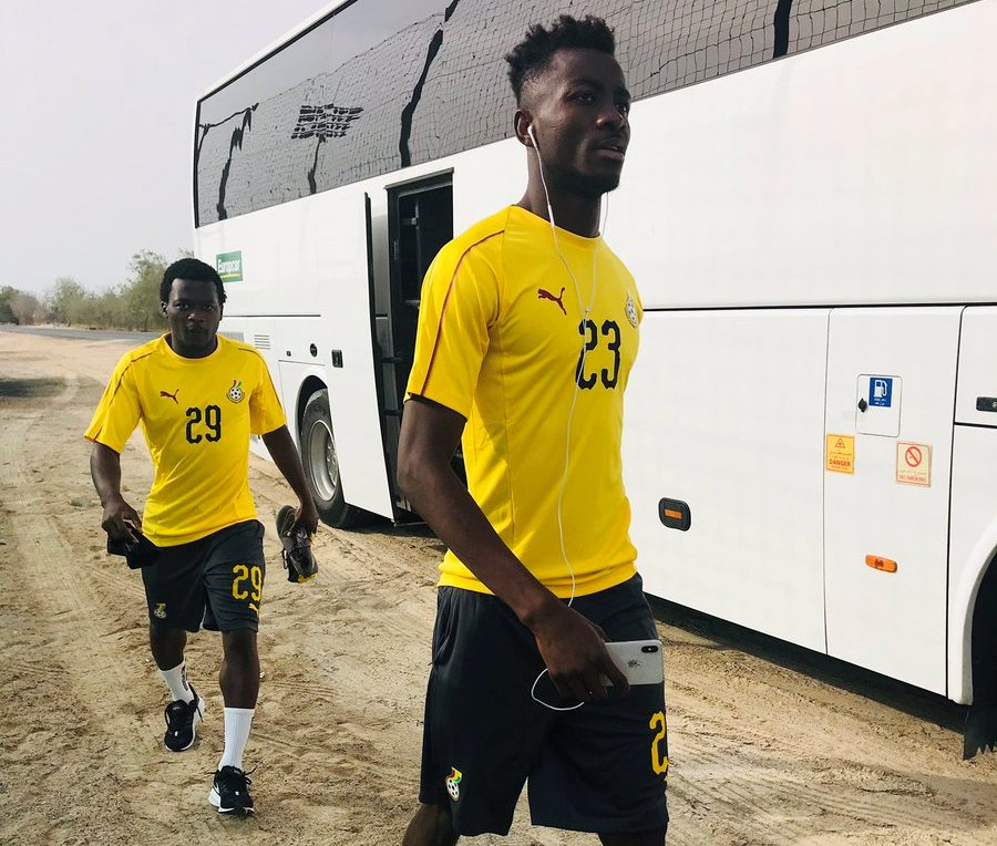 Nuhu Musah injured in Ghana camp in Dubai; out of AFCON 2019