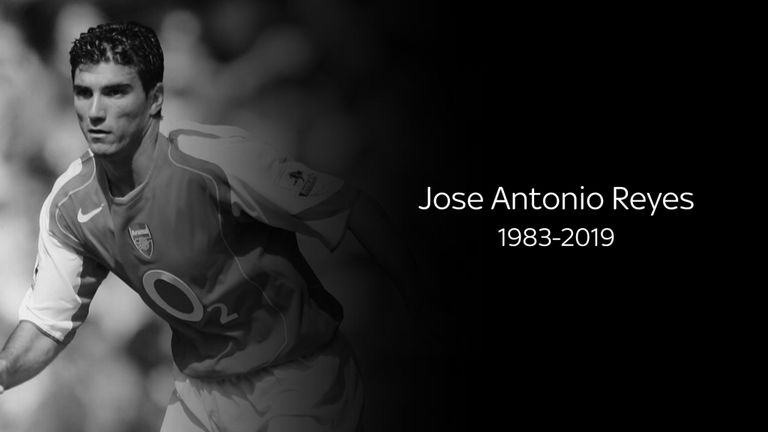 Former Arsenal and Sevilla forward Jose Antonio Reyes dies in car accident