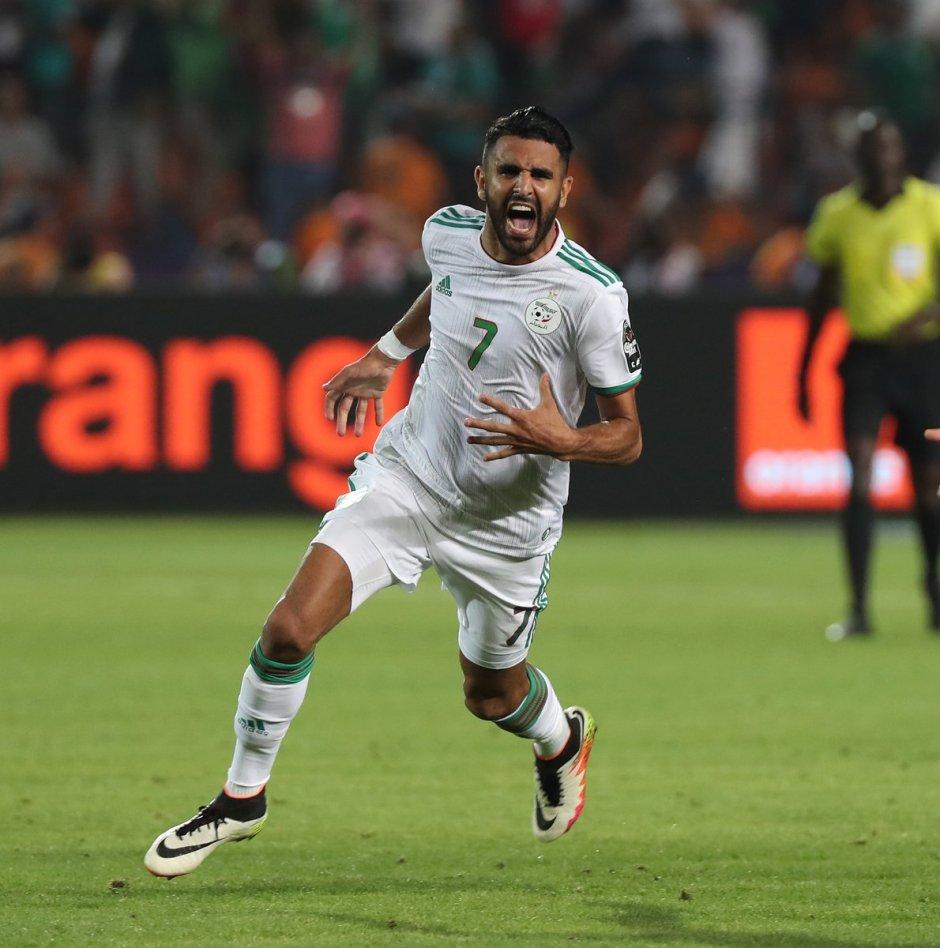 WATCH: Algeria 2-1 Nigeria   Goals and Highlights