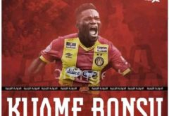 OFFICIAL: Kwame Bonsu completes his move to Esperance from Kotoko