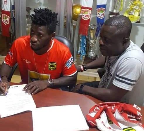 Asante Kotoko complete the signing of Arnold Didi Alexis