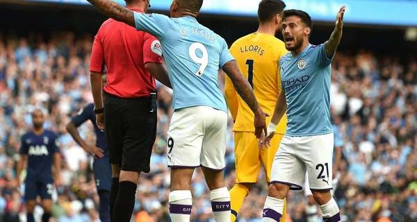 VAR was once again the protagonist between City and Spurs