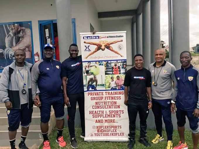 Hearts of Oak sign partnership deal with KOFLEX GYM