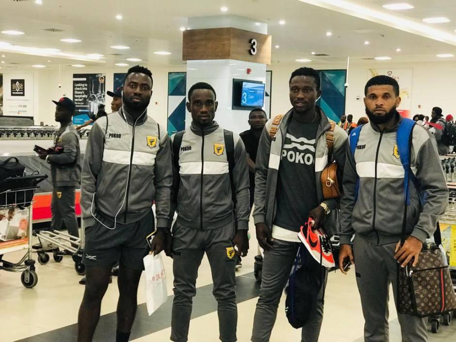 Ashantigold arrive in Ghana after CAF Confederation Cup exit