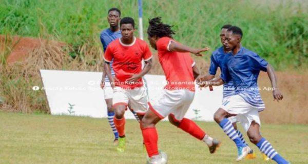 Sogne Yacouba nets hat trick as Kotoko thrash Bekwai Youth in friendly game