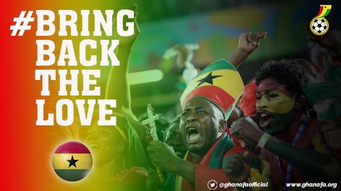 GFA to launch bring back the love campaign for the Black Stars