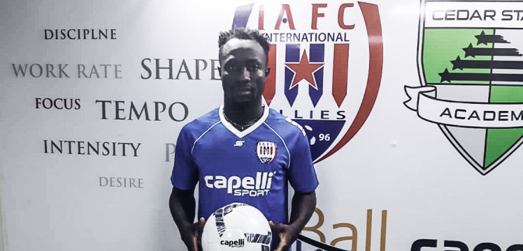 Inter Allies complete signing of Gideon Ahenkorah from Berekum Chelsea