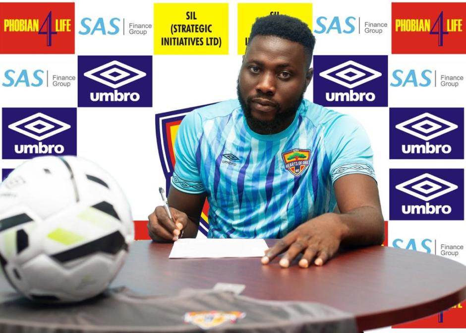 OFFICIAL: Hearts of Oak sign goalkeeper Richard Attah
