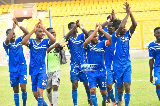 Olympics get three points from the board room against Medeama