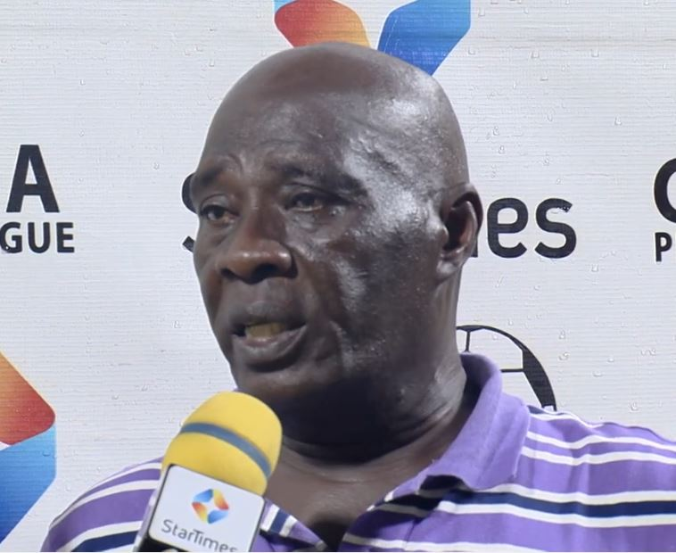 Fans can't force me to win the league - Great Olympics coach