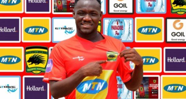 Asante Kotoko complete signing of Emmanuel Sarkodie