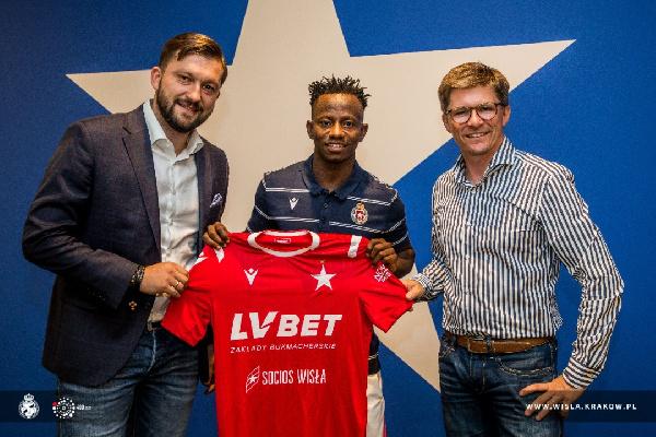 Yaw Yeboah joins Wisla