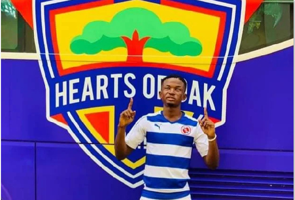 Accra Hearts of Oak agree deal to sign highly rated lad Ismael Ali Razak